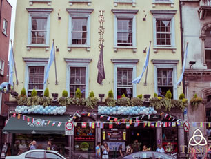 Trinity bar and venue sports bar Dublin